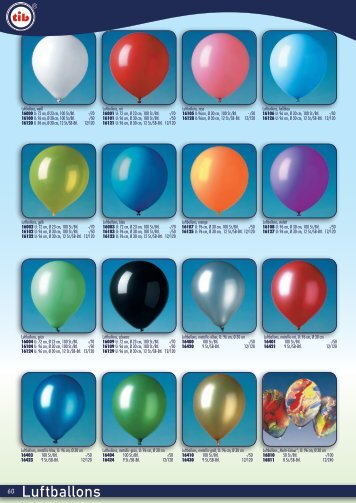 Luftballons-tibheyne