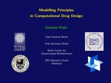 Modelling Principles in Computational Drug Design Susanna ... - ZIB
