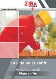 Flyer Ausbildung abgestimmt.cdr - ZIBA-Bau GmbH Greiz