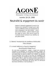 Agone n° 18-19 - pdf (1090 Ko) - Atheles