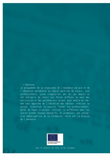 Télécharger le manifeste pour l'Education Permanente. - L'arofesep
