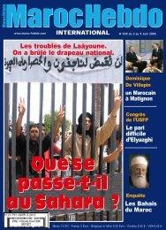 société et culture - Maroc Hebdo