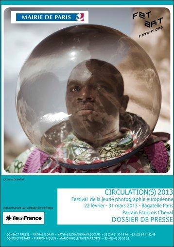DOSSiER DE PRESSE CIRCULATION(S) 2013 - Festival de la ...