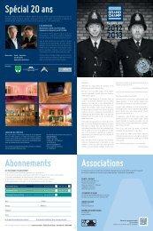 Programme du Théâtre Grand Champ 2012-2013 - Gland