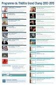 Programme du Théâtre Grand Champ 2012-2013 - Gland - Page 2