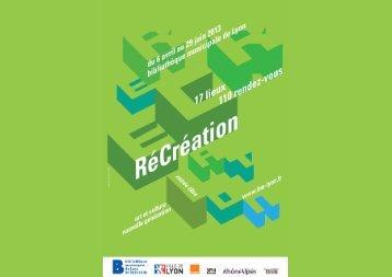 Introduction - RéCréation - Bibliothèque municipale de Lyon