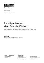 Dossier de presse - Musée du Louvre