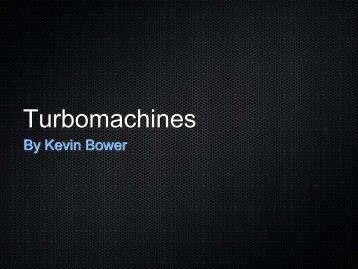Turbomachines - COSMOS