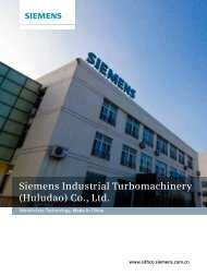 Siemens Industrial Turbomachinery (Huludao) Co., Ltd.