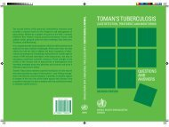 toman's tuberculosis case detection, treatment and monitoring
