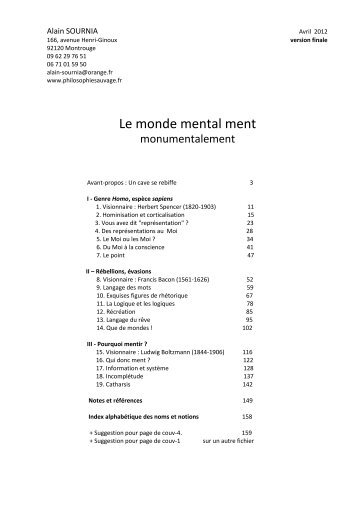 Mental PDF - Philosophie sauvage
