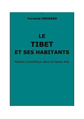 Le Tibet et ses habitants - Chine ancienne