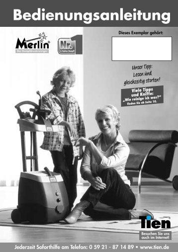 Bedienungsanleitung - Tien Versand GmbH
