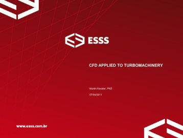 CFD APPLIED TO TURBOMACHINERY - MSO Industrial
