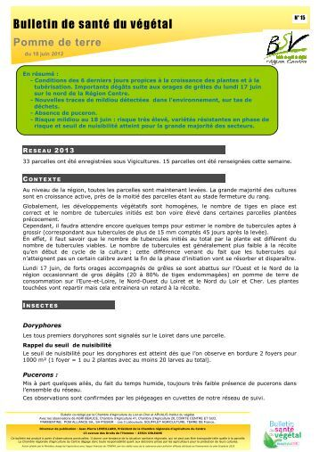 Article 2 etat for Chambre agriculture indre