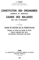 constitution des organismes causes des maladies - AMESSI ...