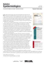 Boletim Epidemiológico – Volume 43 – Especial Tuberculose