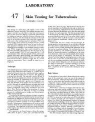LABORATORY 47 Skin Testing for Tuberculosis - Famona Site