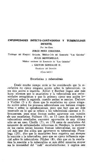 carlatina no ejerce ninguna accion sobre la tub - SciELO