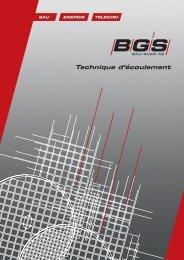Technique d'écoulement - BGS Bau Guss AG