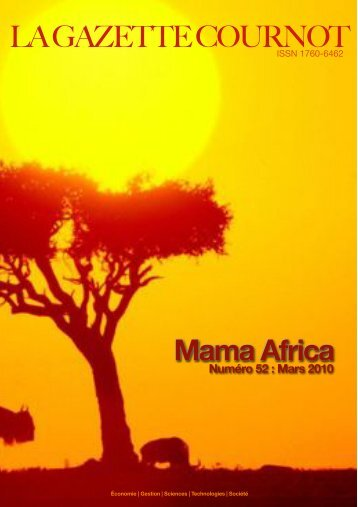 Mama Africa - ACDD - Augustin Cournot Doctoral Days