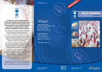 B.U.T. Prémium - Standards Chair - Aviagen Turkeys