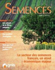 Le secteur des semences français - SeedQuest
