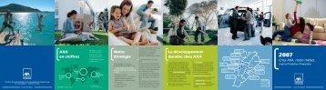 Brochure Corpo AXA - Les Assurances AXA Middle East