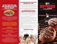 Brochure de bifteck Rapides et délicieux - M&M Meat Shops