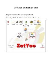 Création d'un nouveau plan de salle - ZatYoo