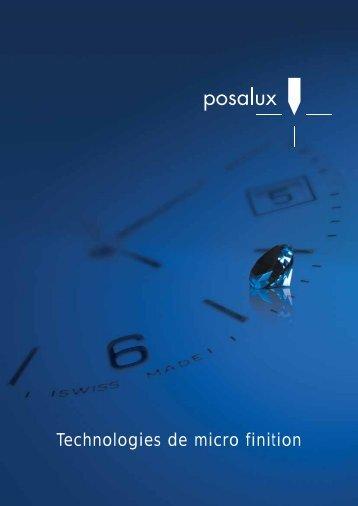 Technologies de micro finition - Posalux
