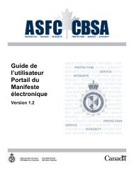 PDF (18.2 Mo) - Agence des services frontaliers du Canada