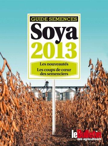 Guide soya 2013 - Le Bulletin des Agriculteurs
