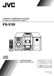 fs-v30 instructions - JVC