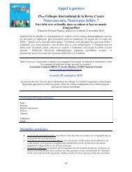 Appel à posters - Association Internationale d'EthnoPsychanalyse