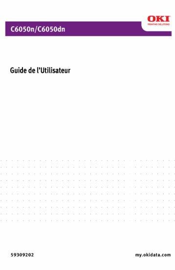C6050 UG cf 59299202 Rev 1.0.book - Okidata