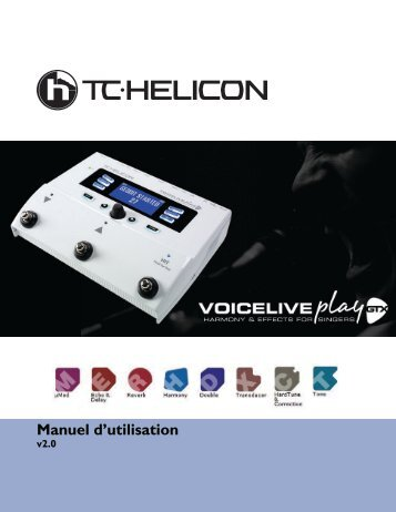 Manuel d'utilisation - TC-Helicon