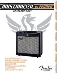 mustang™ i / ii - American Musical Supply