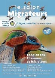 Dossier exposants - Le salon des migrateurs