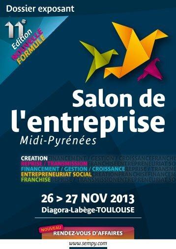 Télécharger le dossier exposant - Salon de l'Entreprise 2013 ...
