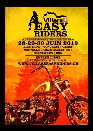 Dossier exposants à télécharger - Villars Easy Riders