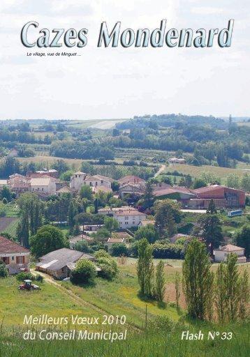 Consultez le bulletin municipal - Cazes-Mondenard