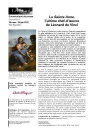 La Sainte Anne, l'ultime chef-d'œuvre de ... - Musée du Louvre