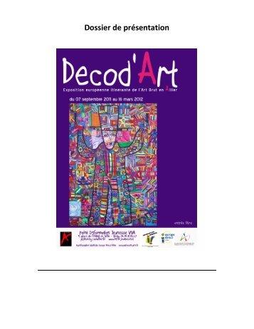 Decod'Art – Dossier de présentation - Laurentiu DIMISCA