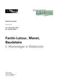 Télécharger le dossier de presse > pdf - 0.99 Mo - Musée du Louvre