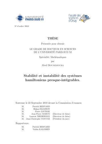 PhD thesis - IAS