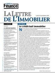 Le crédit-bail immobilier - CMS Bureau Francis Lefebvre
