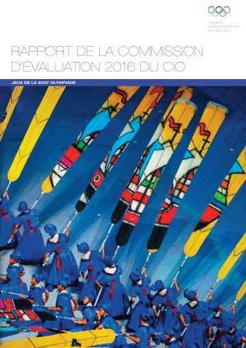 rapport de la commission d'évaluation 2016 du cio - Comité National ...