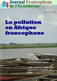 La pollution en Afrique Francophone : Enjeux et défis - CAREDE