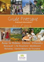 Chinon - Villandry Tourisme